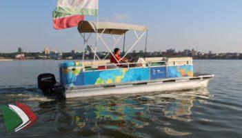 Речной катер «Кабанчик»