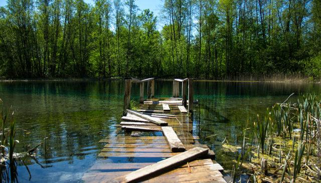 Тур до Голубых озер. ЭКО-тур.