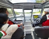 Скоростной катер «Buster cabin»