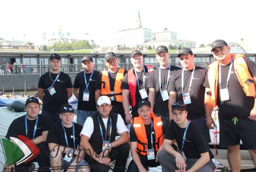 Участие в проведении 16-ого Чемпионата мира Fina по водным видам спорта 2015 года в г. Казани